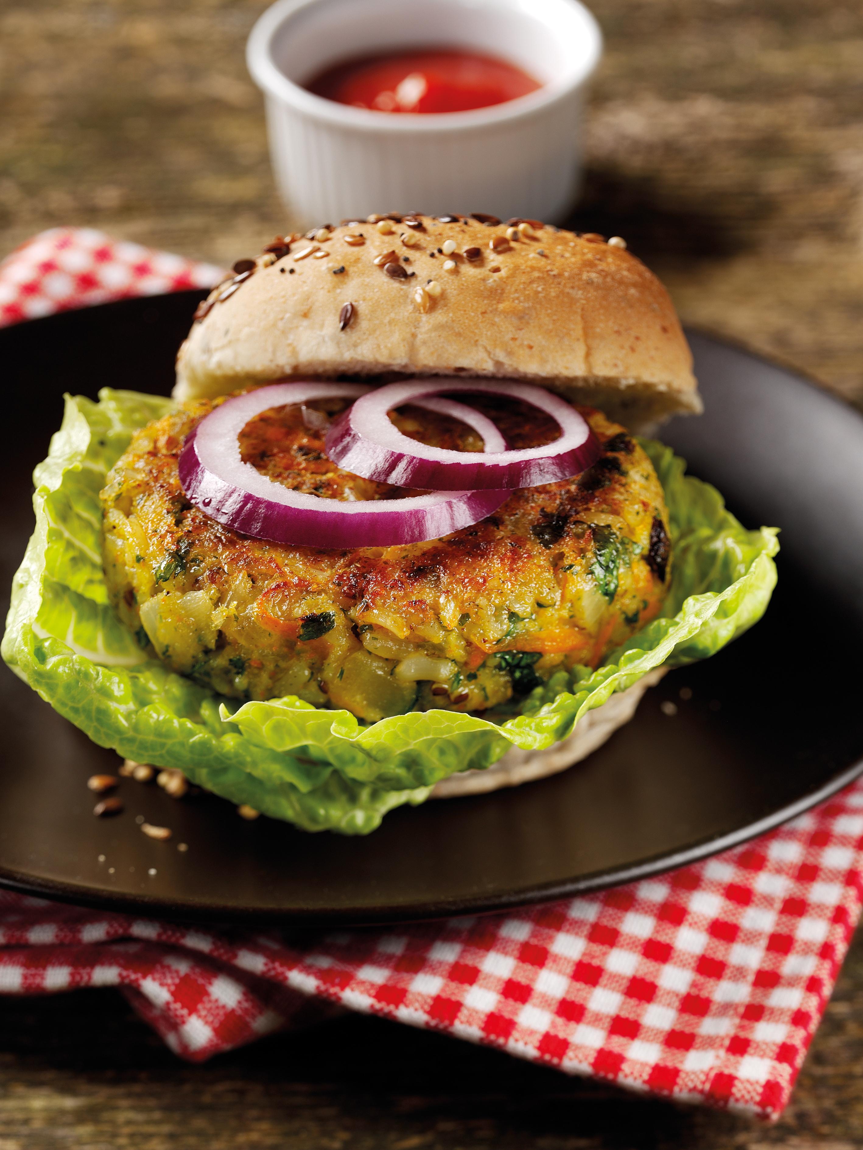 Rice & Quinoa Veggie Burgers