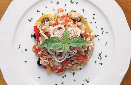 3 Grains Salad With Tuna