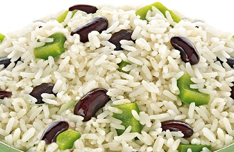 Caribbean Rice and Peas (v)