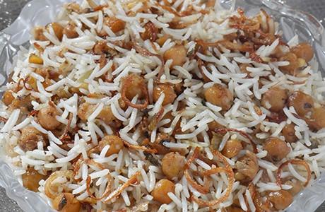 Chickpea Rice (v)