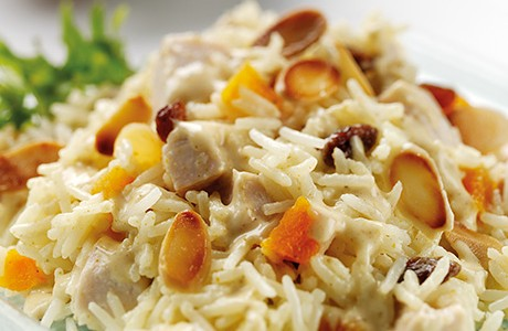 Everyday Coronation Chicken and Rice Salad