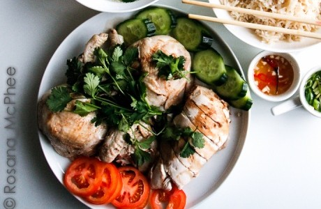 Hainanese Chicken Rice Recipe with a Brazilian Twist