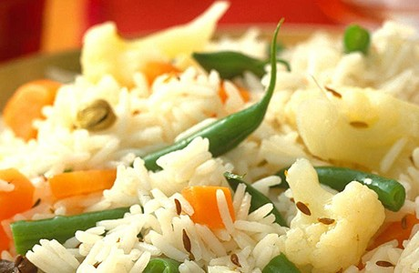 Indian Mixed Vegetable Rice (Slow Cooker) (v)