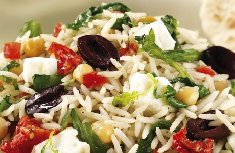 Lebanese Warm Rice Salad (v)