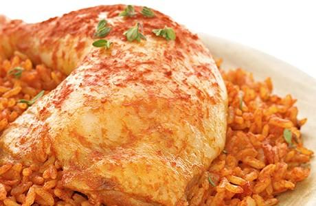 Nigerian Jollof Rice (v)