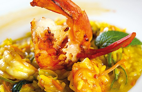 Prawn and Courgette Risotto