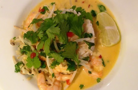 Super Fast Prawn Curry