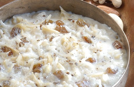 Sweetened Rice Pudding (v)