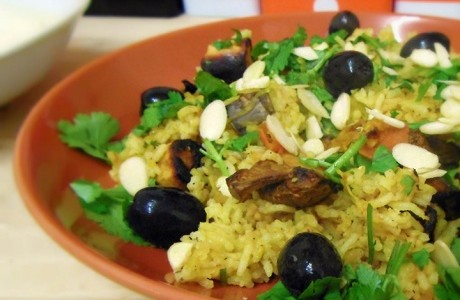 Winter Paella with Saffron Yoghurt